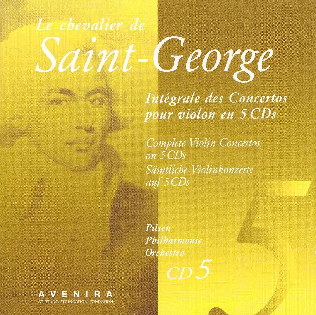 Saint-George: Complete Violin Concertos, Vol. 5