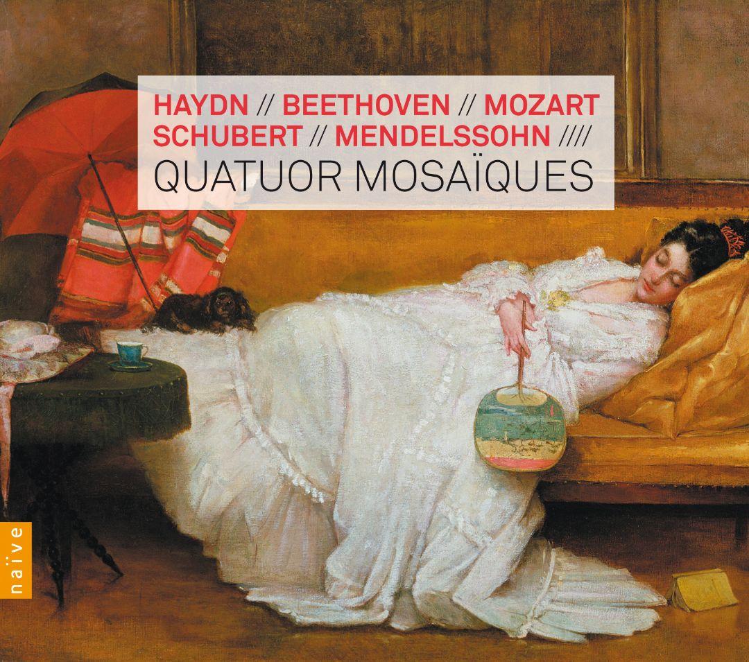 Haydn, Beethoven, Mozart, Schubert, Mendelssohn