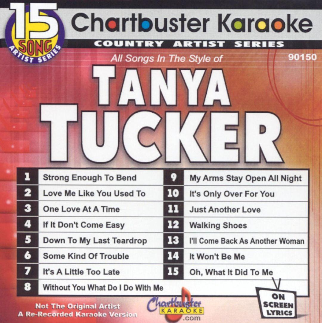 Chartbuster Karaoke: Tanya Tucker, Vol. 1 [2004]