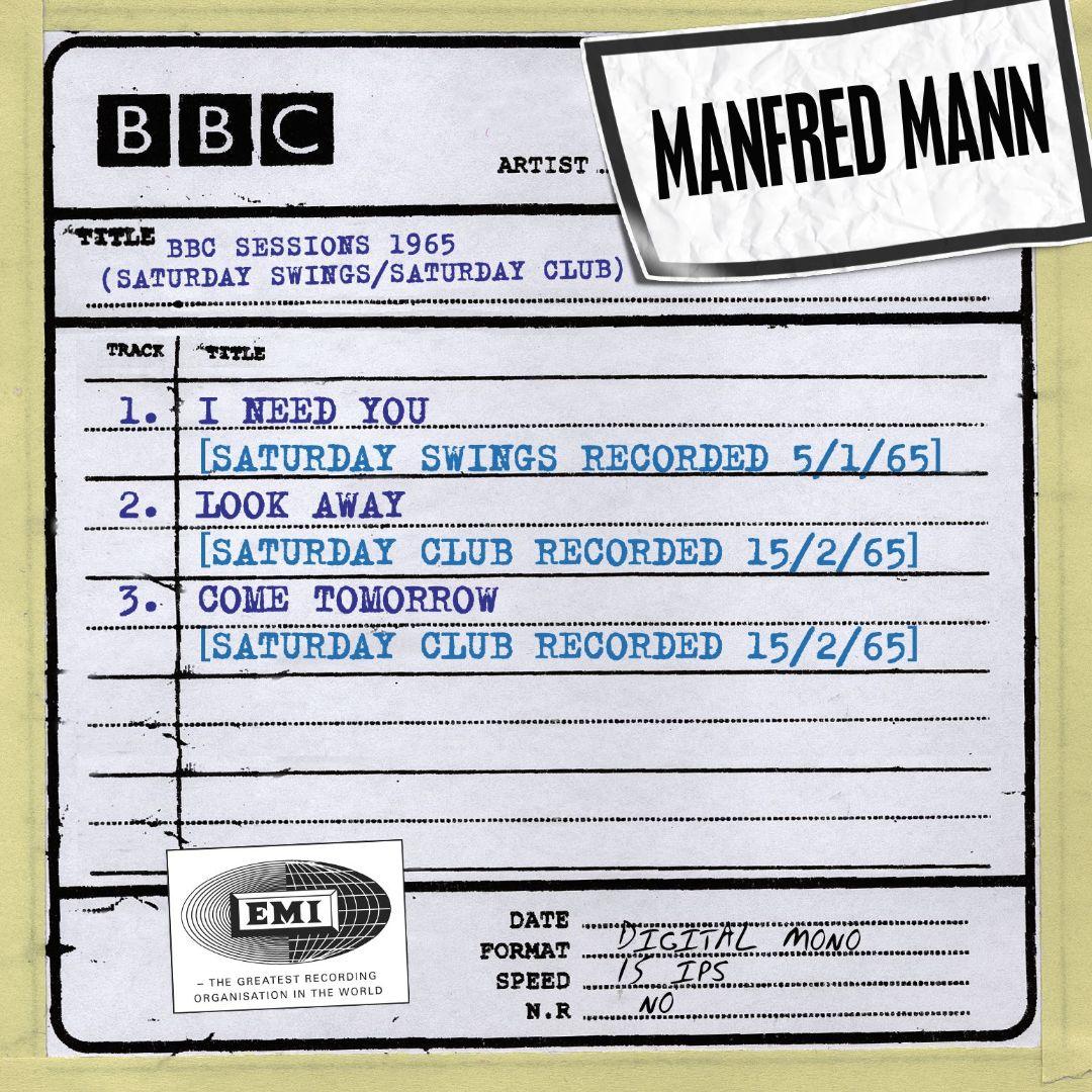 BBC Sessions (Saturday Swings/Saturday Club Recorded 1965)