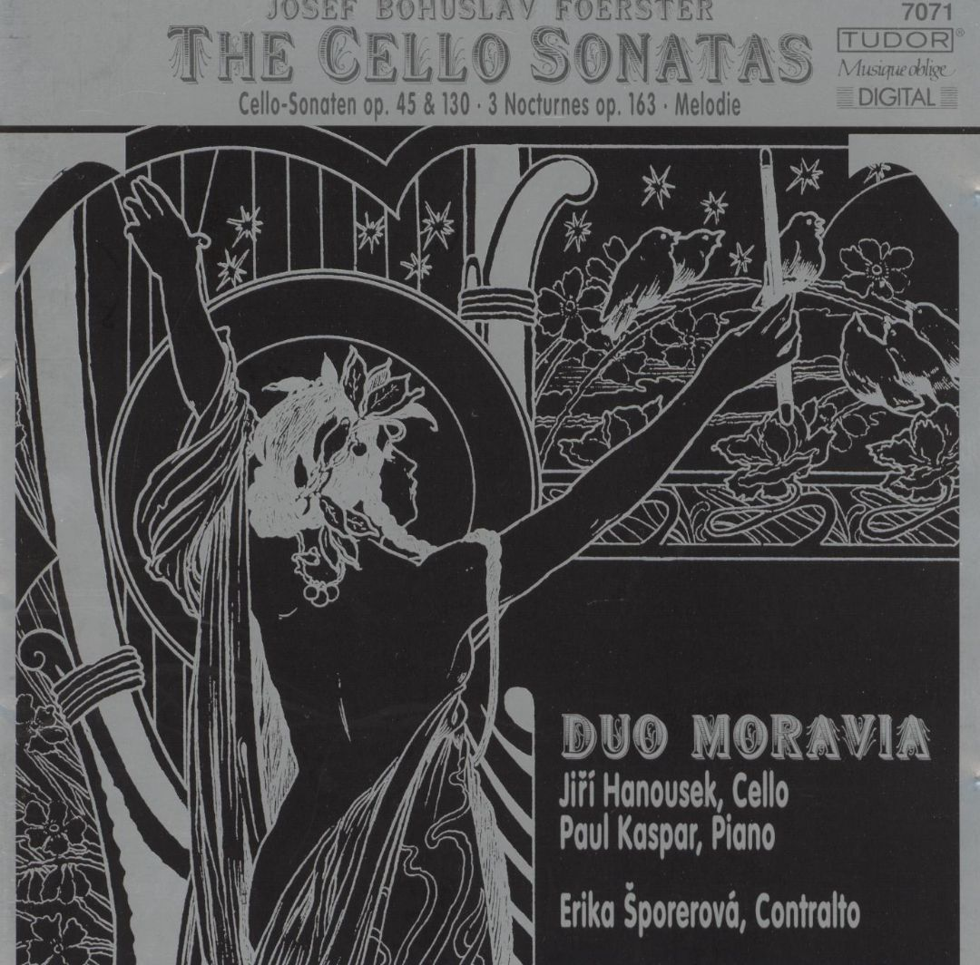 Foerster: Cello Sonatas