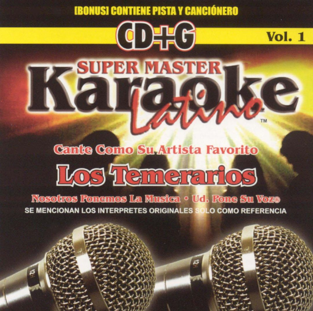 Karaoke Latino, Vol. 1: Los Temerarios