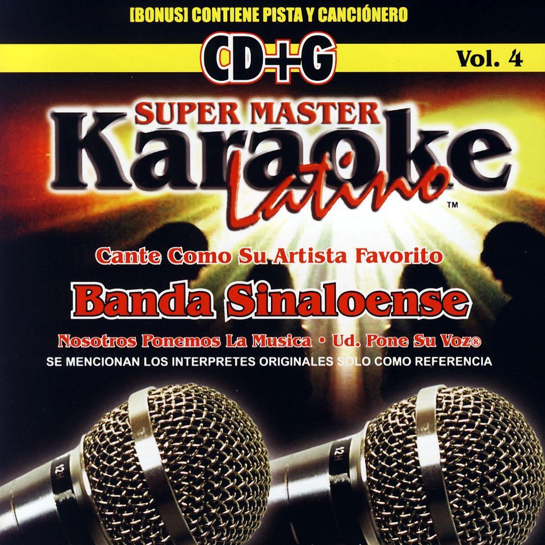 Karaoke Latino, Vol. 4: Banda Sinaloense