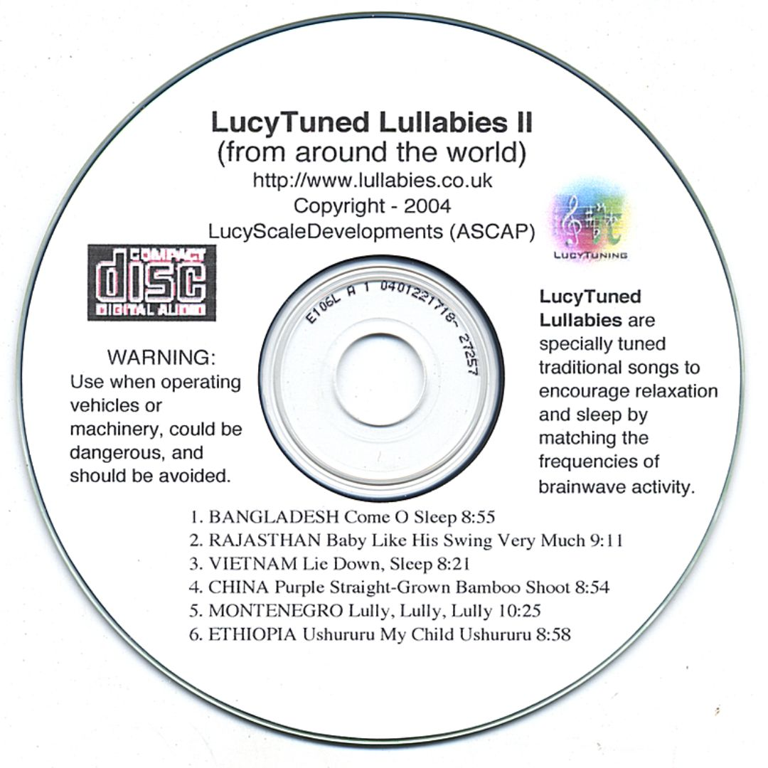 Lucytuned Lullabies From Around the World, Vol. 2