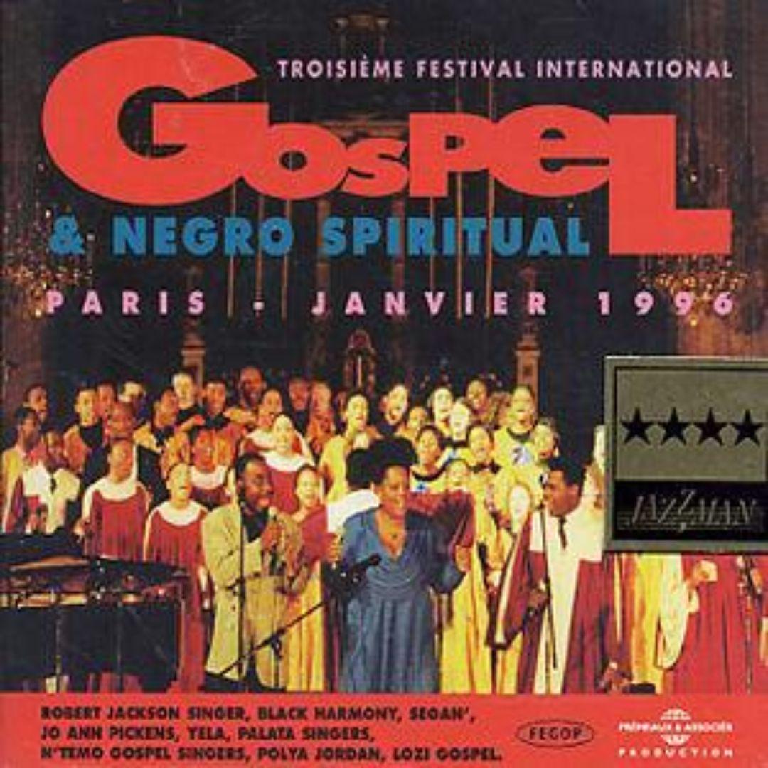 3rd Festival de Gospel de Paris: 1996