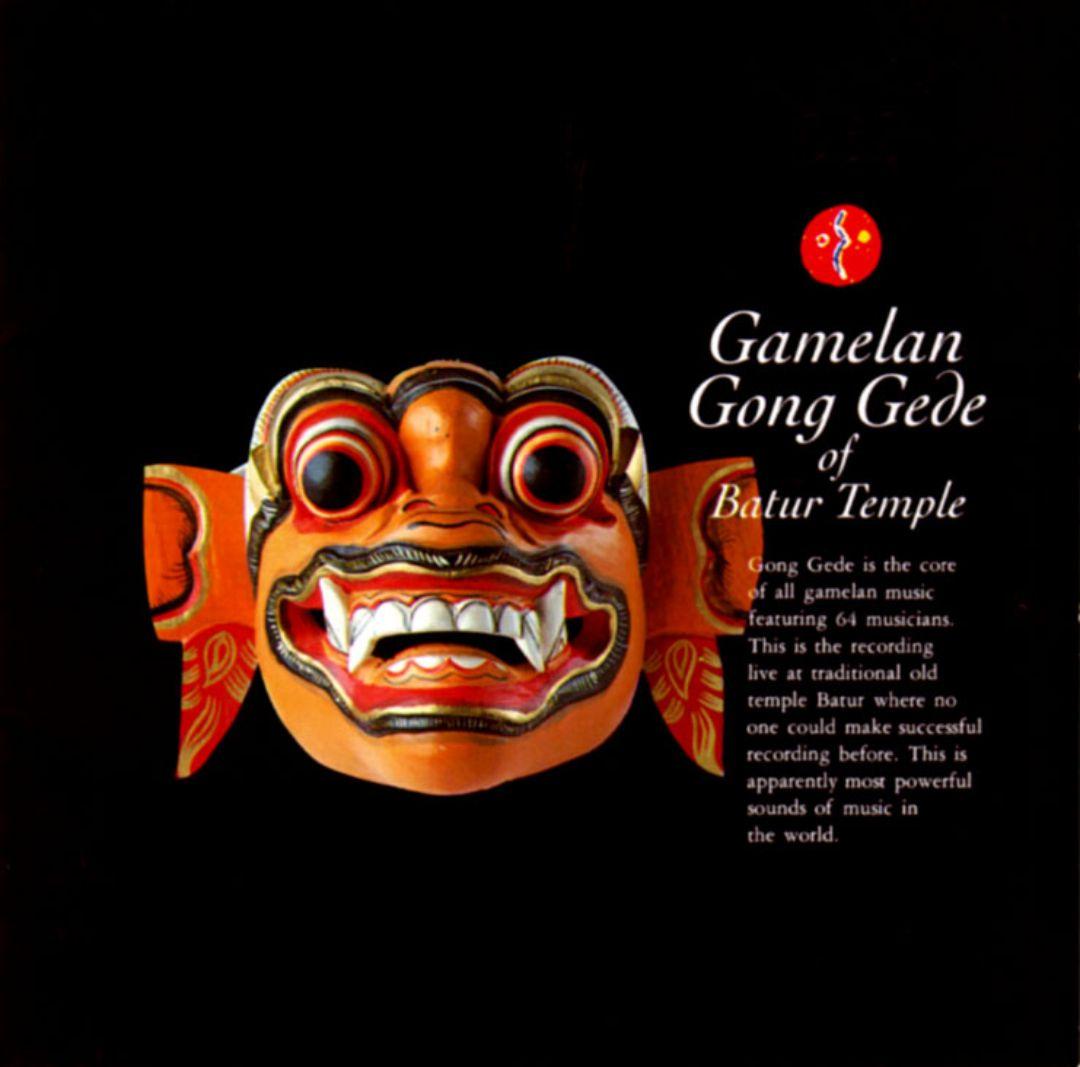 Gamelan Gong Gede of Batur Temple