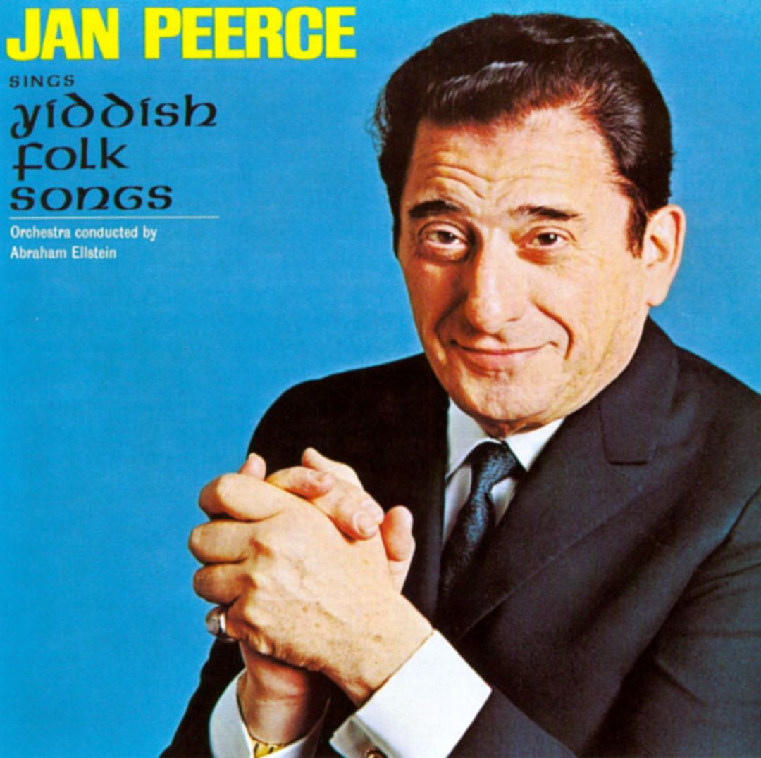 Jan Peerce Sings Yiddish Folk Songs