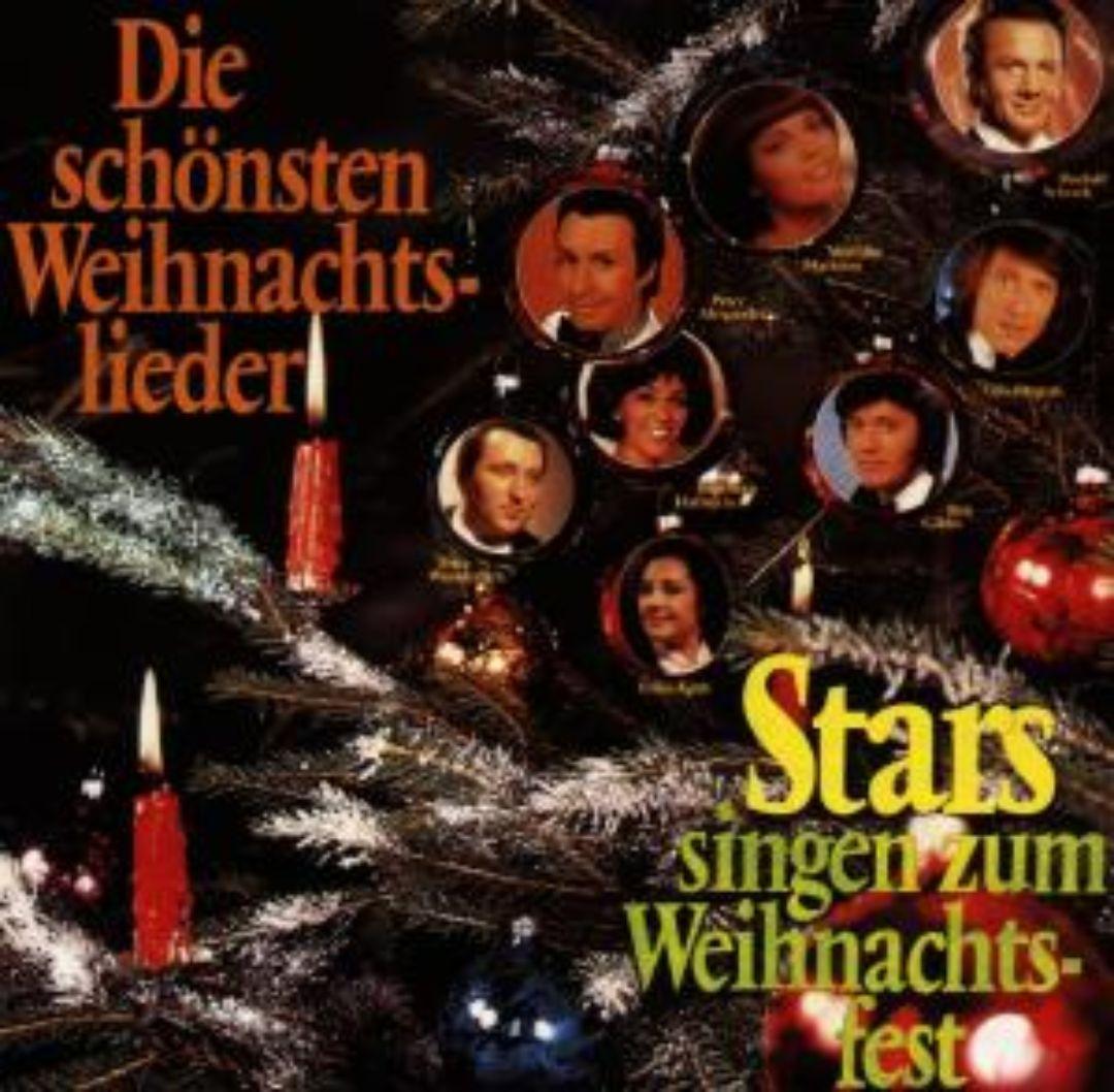 Stars Singen Zum Weihnachfest