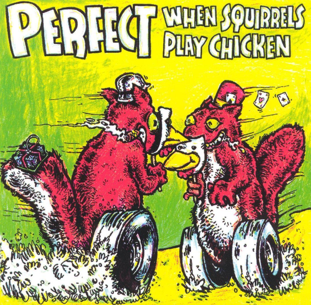 When Squirrels Play Chicken
