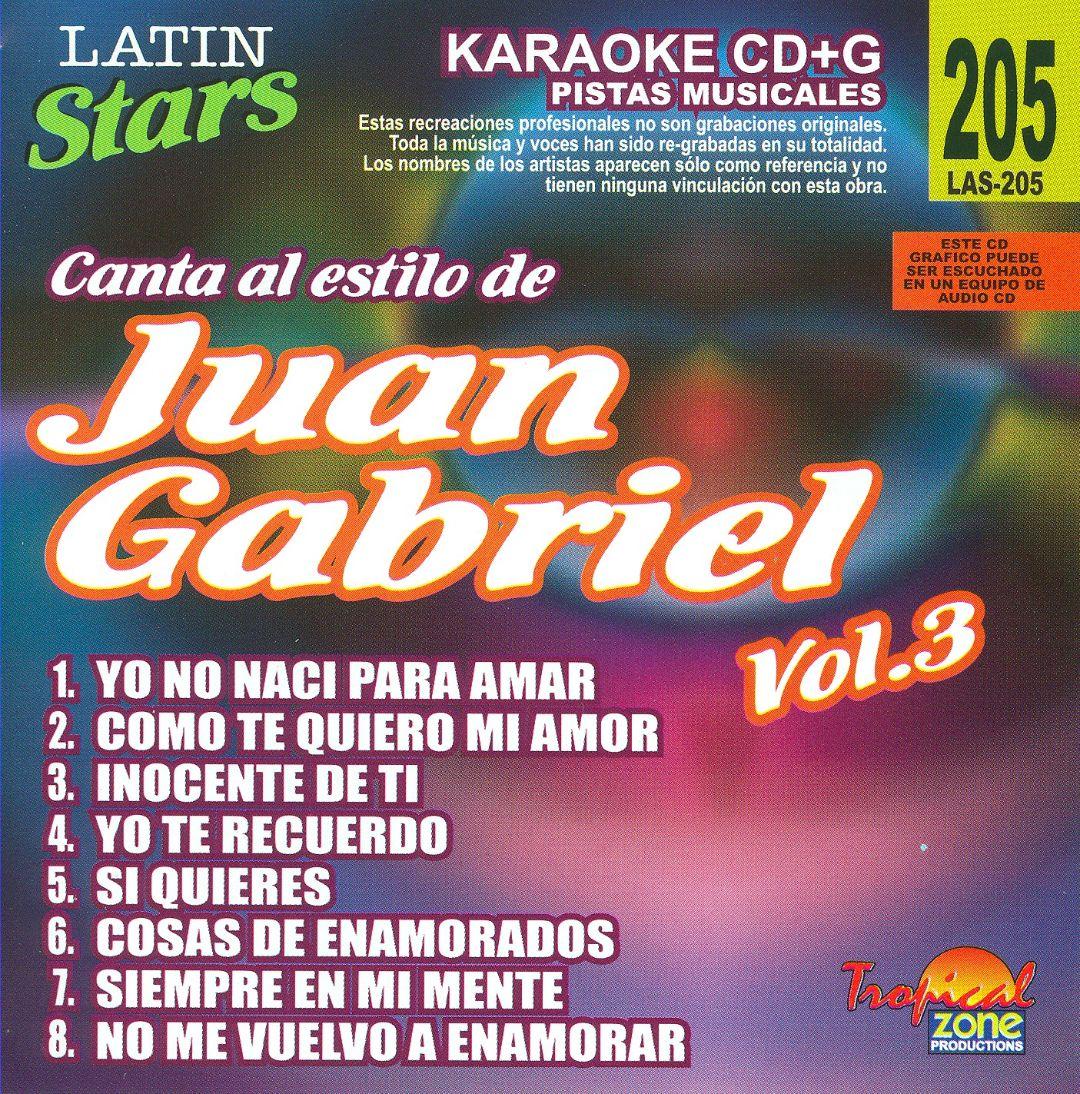 Latin Stars Karaoke: Juan Gabriel, Vol. 3
