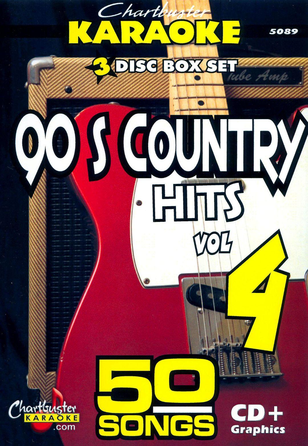 Karaoke: 90's Country Hits, Vol. 4