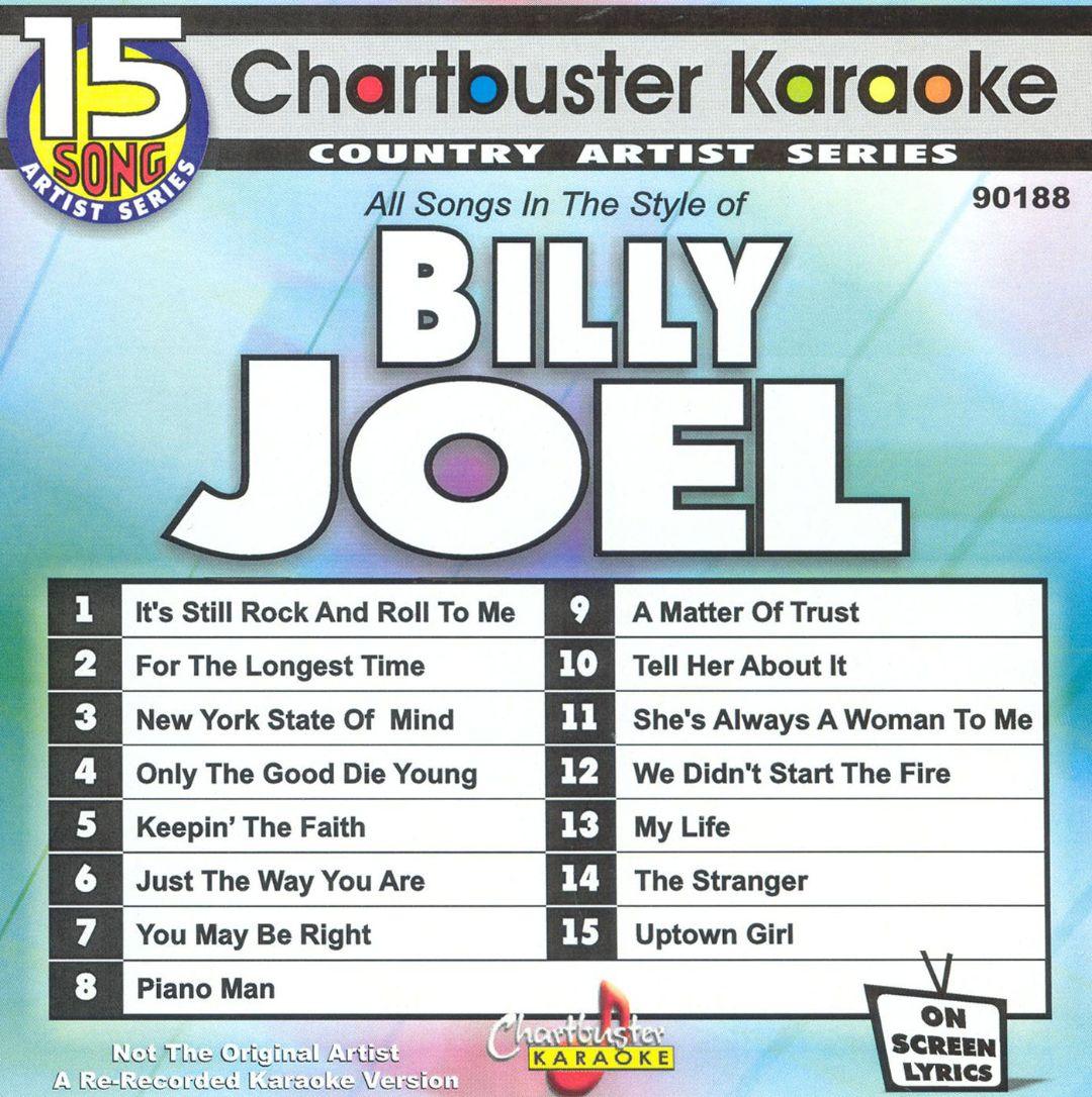 Chartbuster Karaoke: Billy Joel